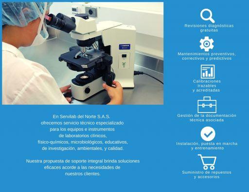 Servicio técnico equipos de laboratorio